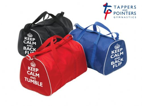 Tappers & Pointers Keep Calm Gym Bag